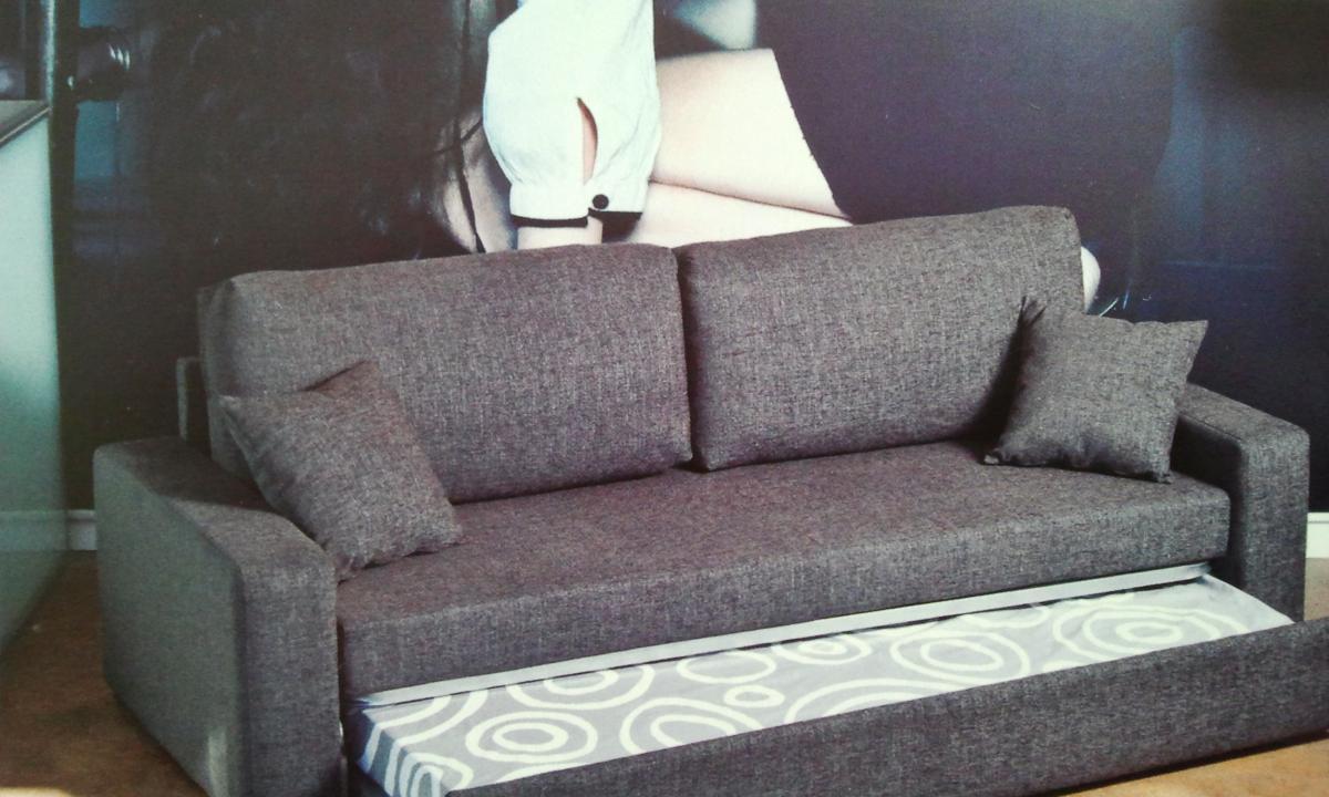 Sofa cama nido blanca concepto siete for Sofa cama nido barato